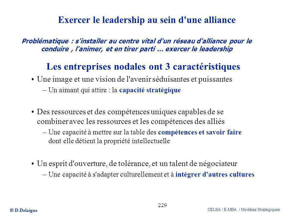 Exercer le leadership au sein d une alliance