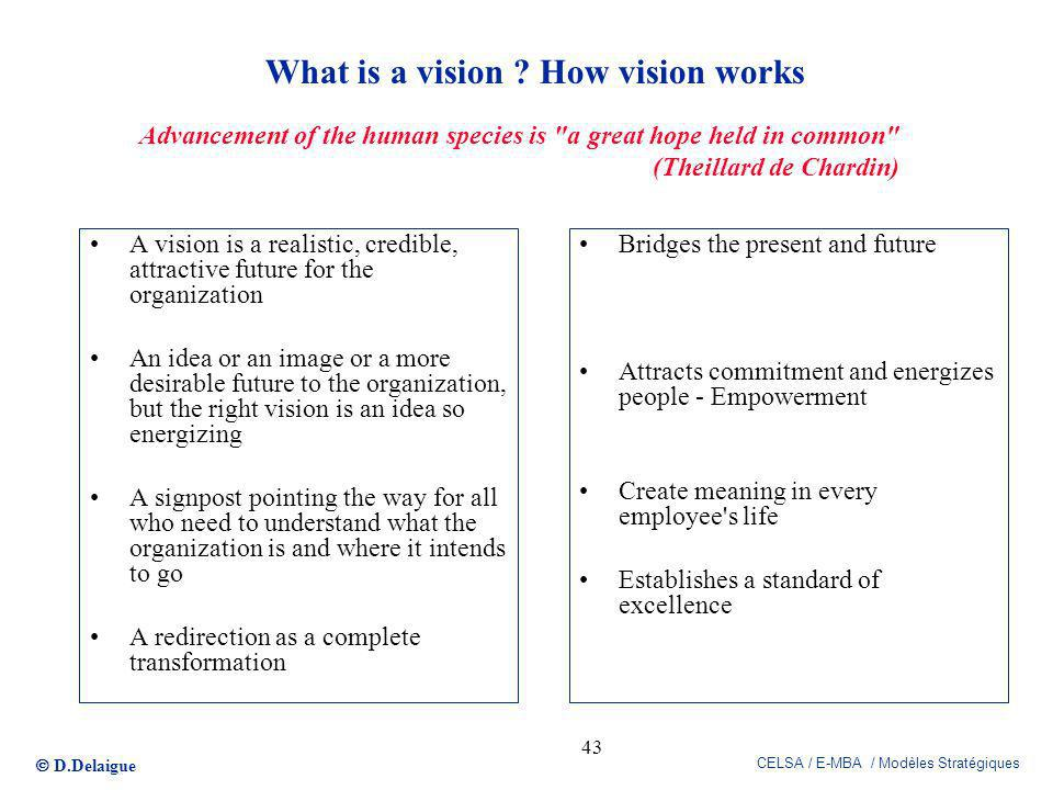 What is a vision How vision works