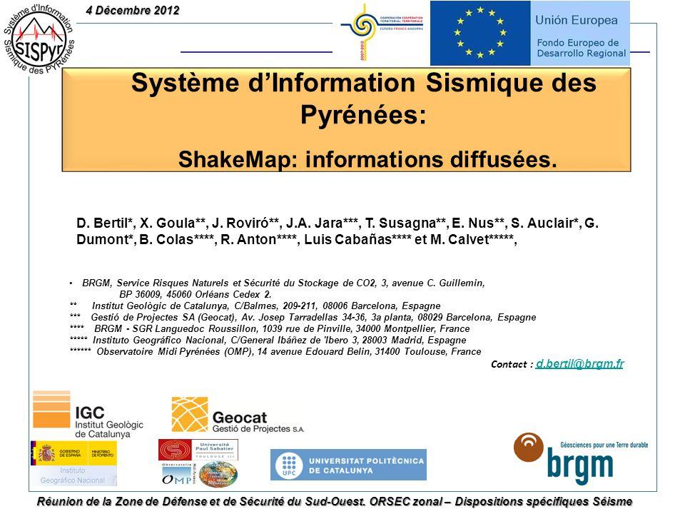 Système d'Information Sismique des Pyrénées: