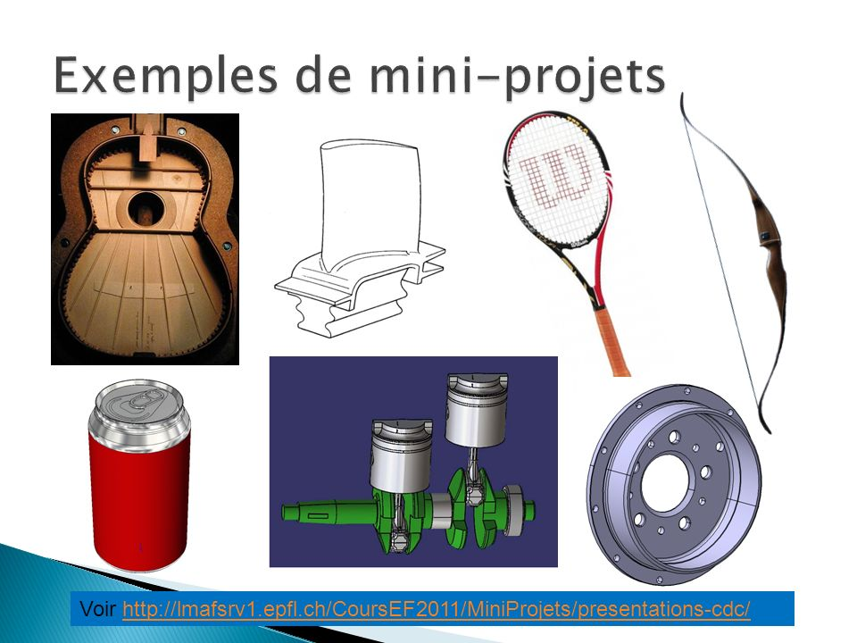 Exemples de mini-projets