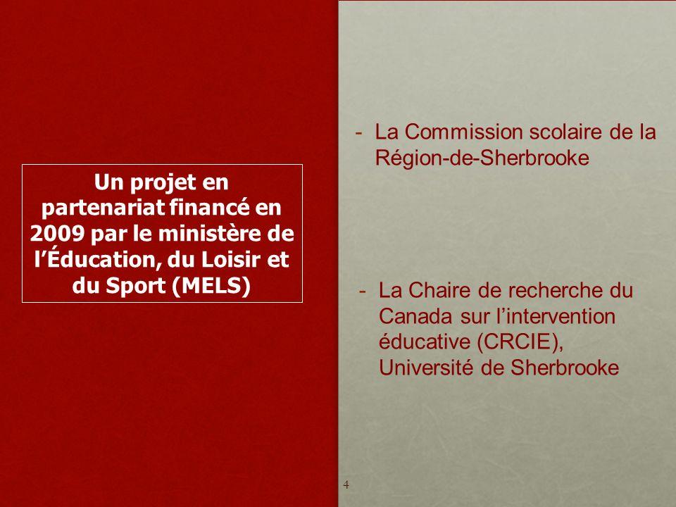 La Commission scolaire de la Région-de-Sherbrooke
