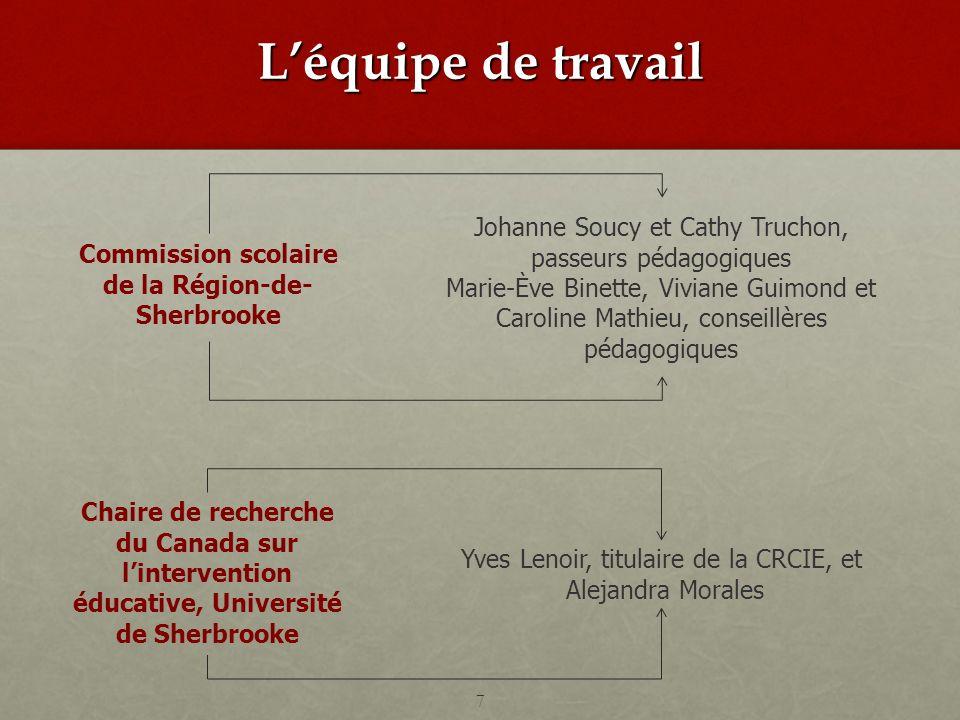 Commission scolaire de la Région-de- Sherbrooke