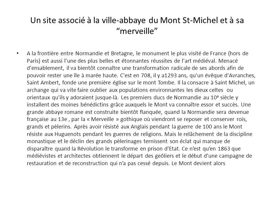 Partez à la découverte du Mont-Saint-Michel Ouest France 12 août 2001