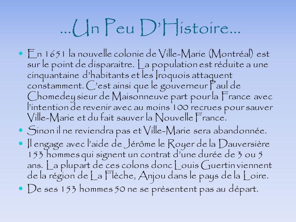 …Un Peu D'Histoire…