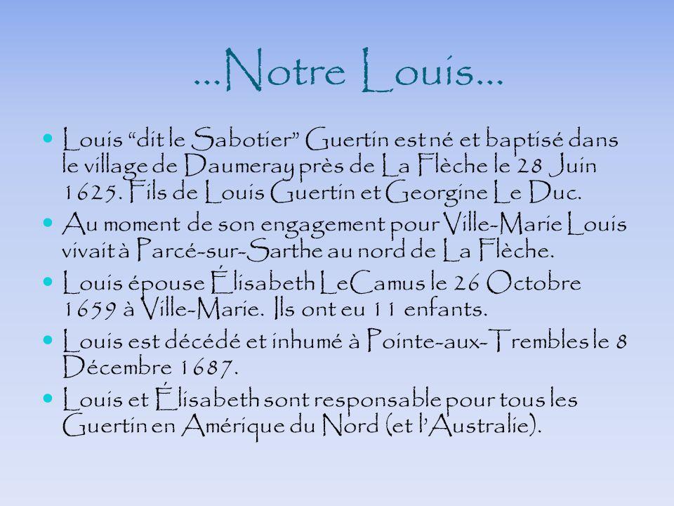 …Notre Louis…