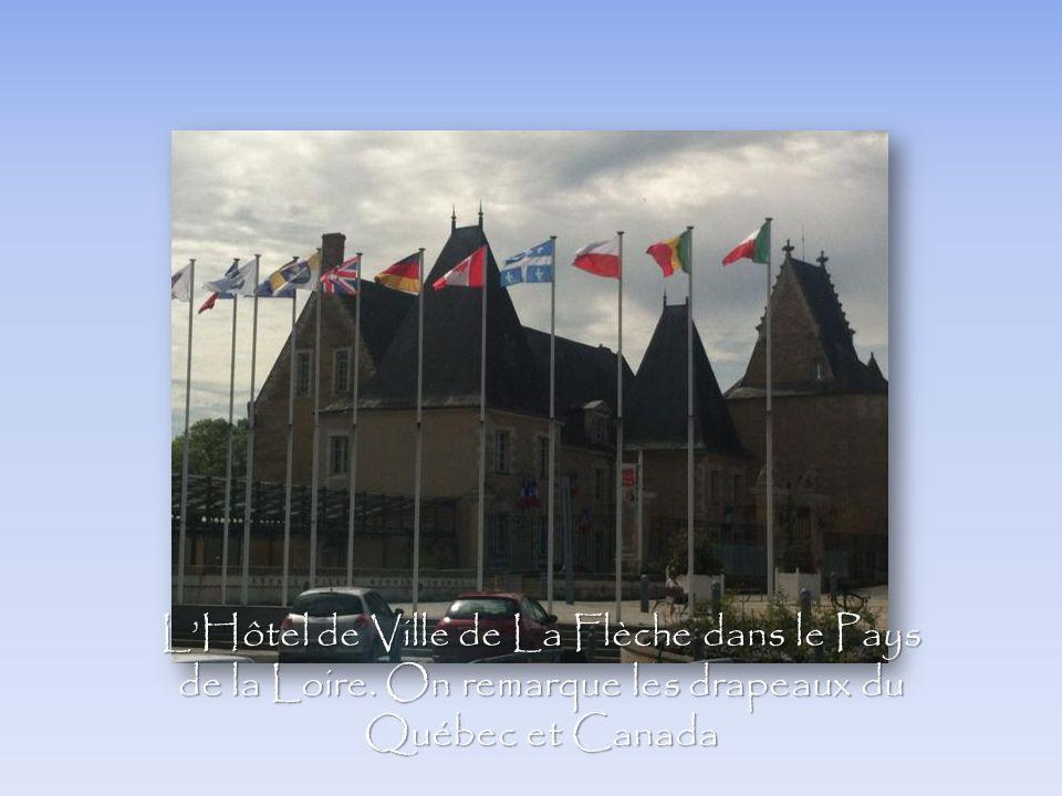 L'Hôtel de Ville de La Flèche dans le Pays de la Loire
