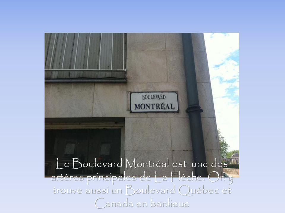 Le Boulevard Montréal est une des artères principales de La Flèche