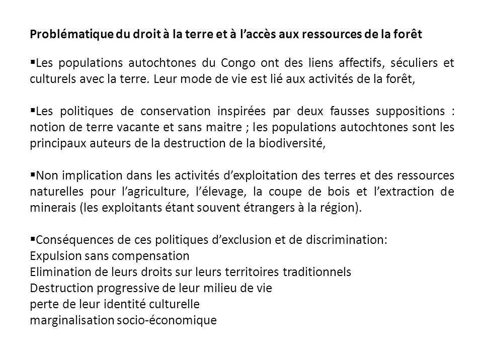 Conséquences de ces politiques d'exclusion et de discrimination:
