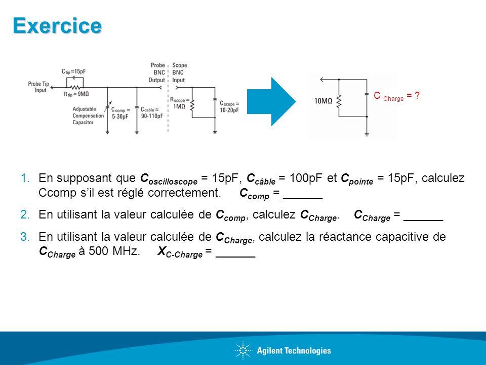 Exercice C Charge =