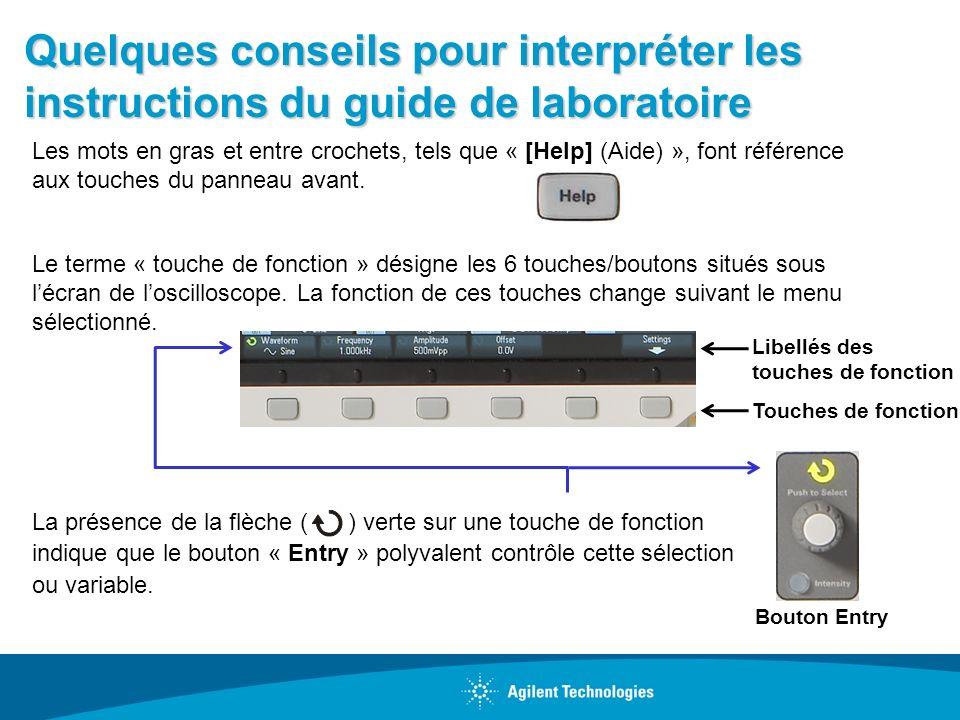 Quelques conseils pour interpréter les instructions du guide de laboratoire