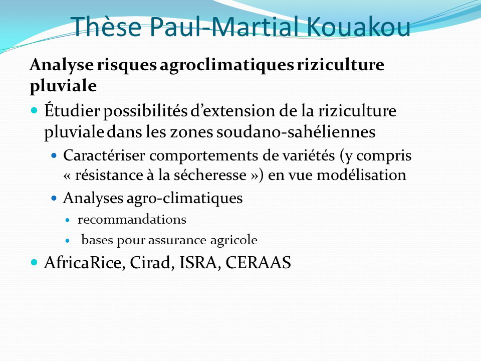 Thèse Paul-Martial Kouakou