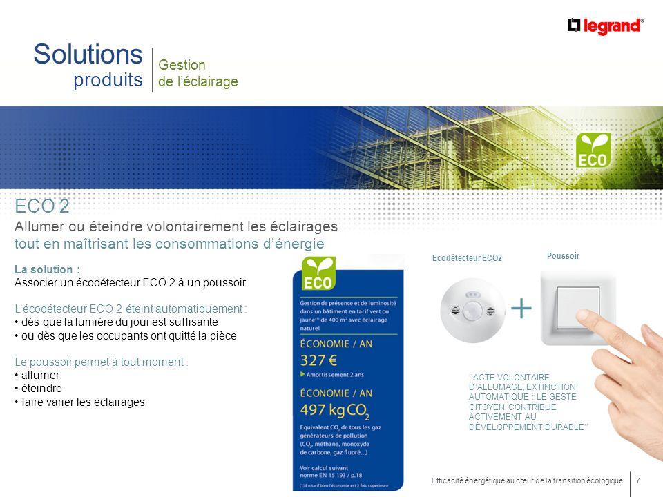 Solutions produits eco 2