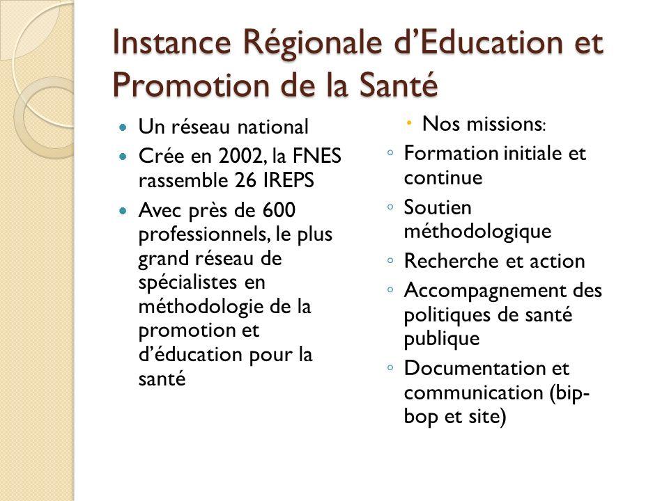Instance Régionale d'Education et Promotion de la Santé