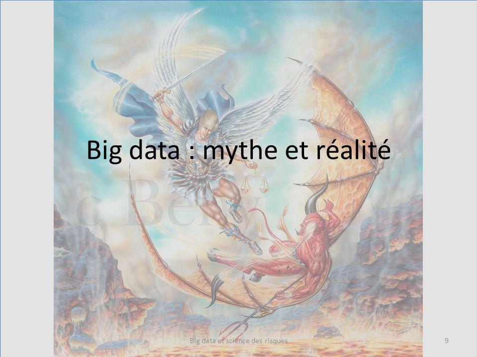 Big data : mythe et réalité