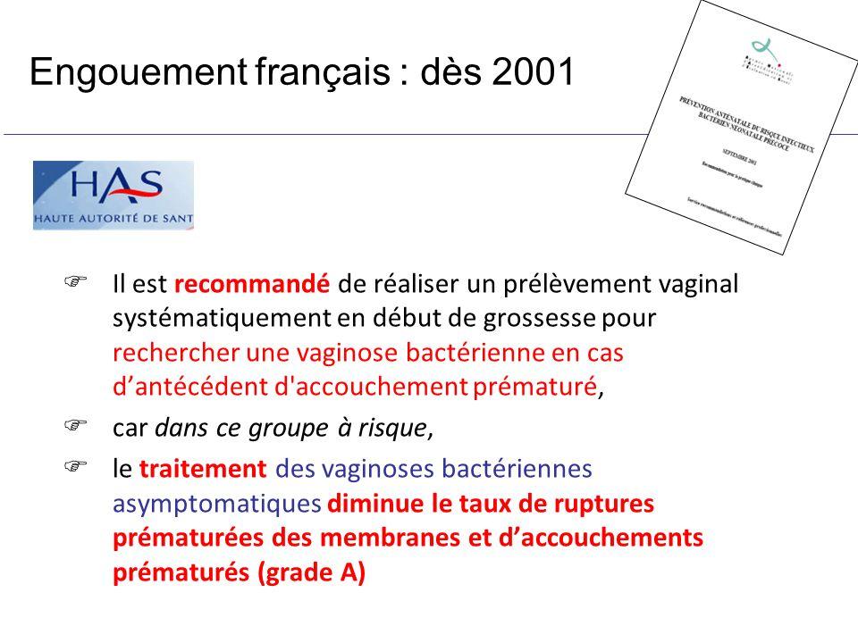 Engouement français : dès 2001