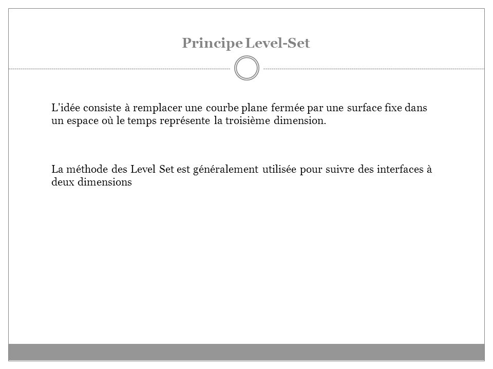Principe Level-Set