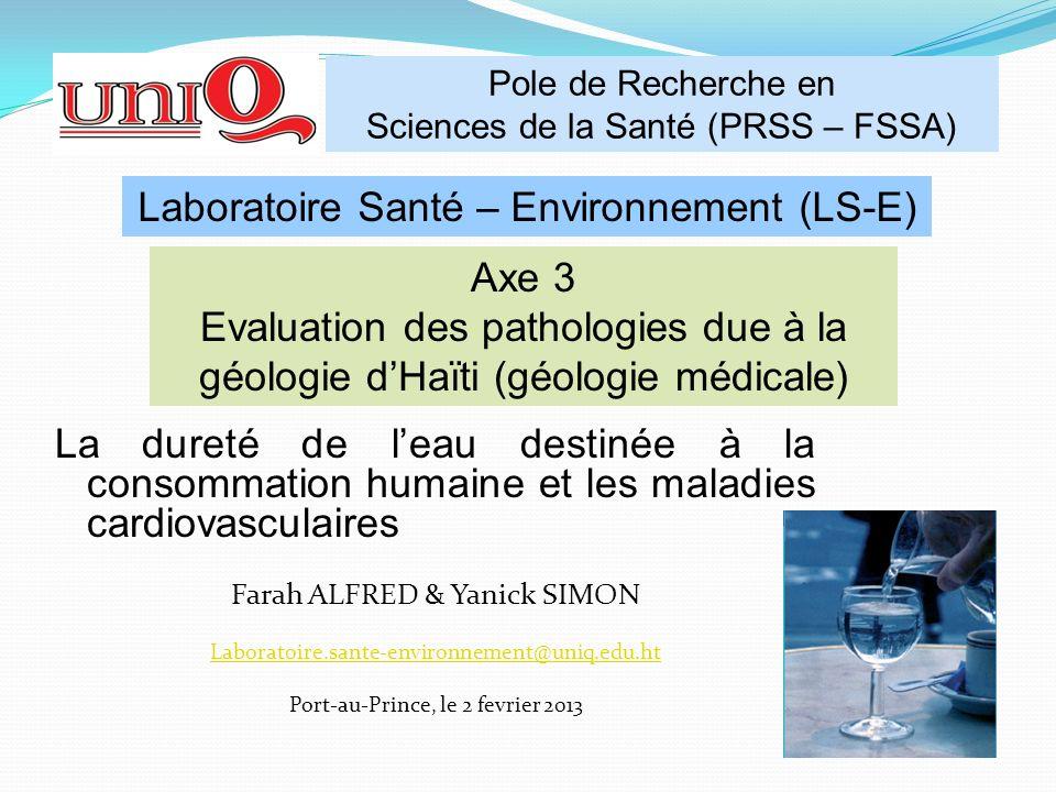 Laboratoire Santé – Environnement (LS-E)
