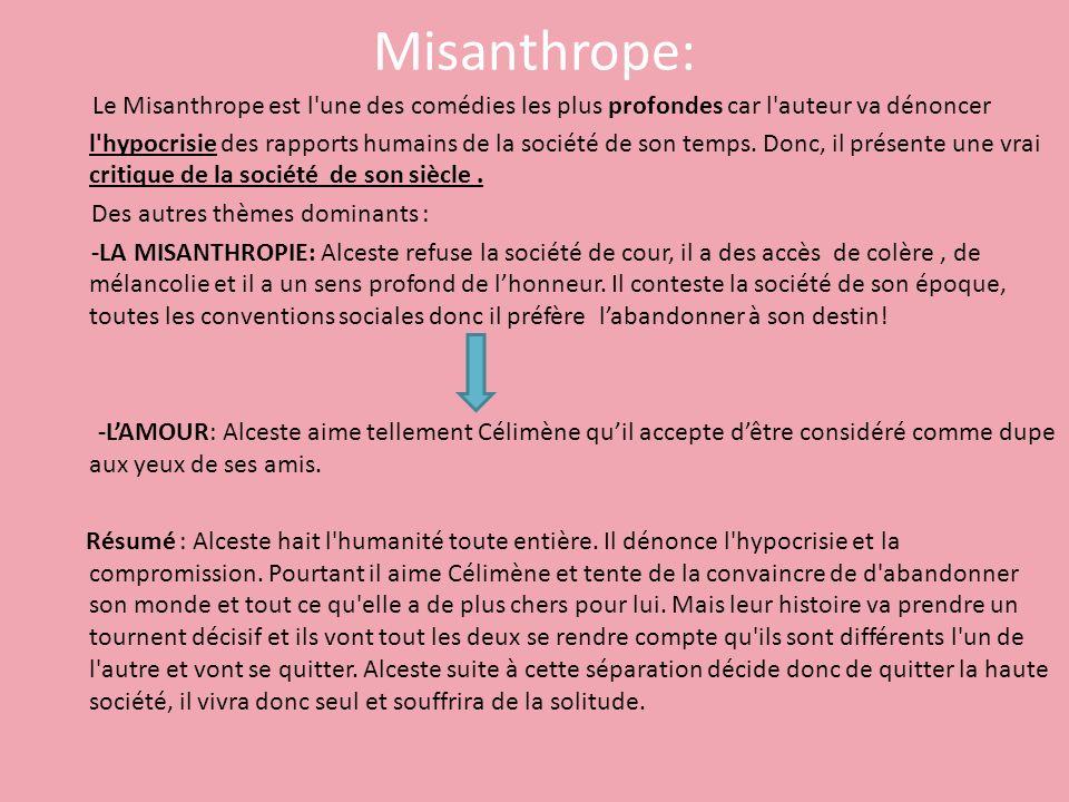 Misanthrope: