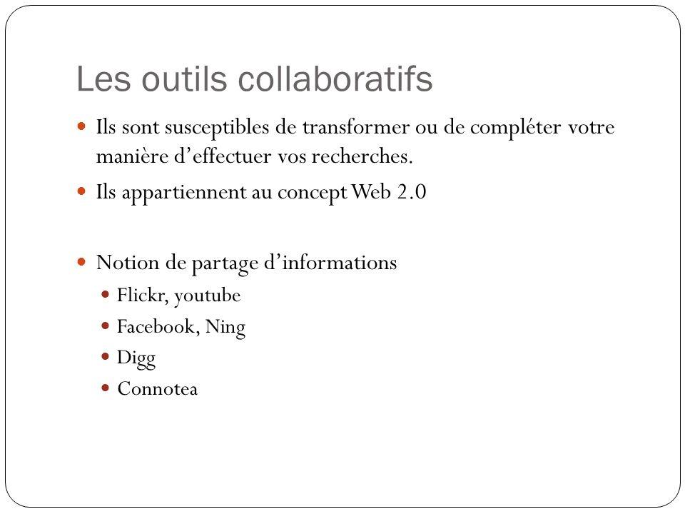 Les outils collaboratifs