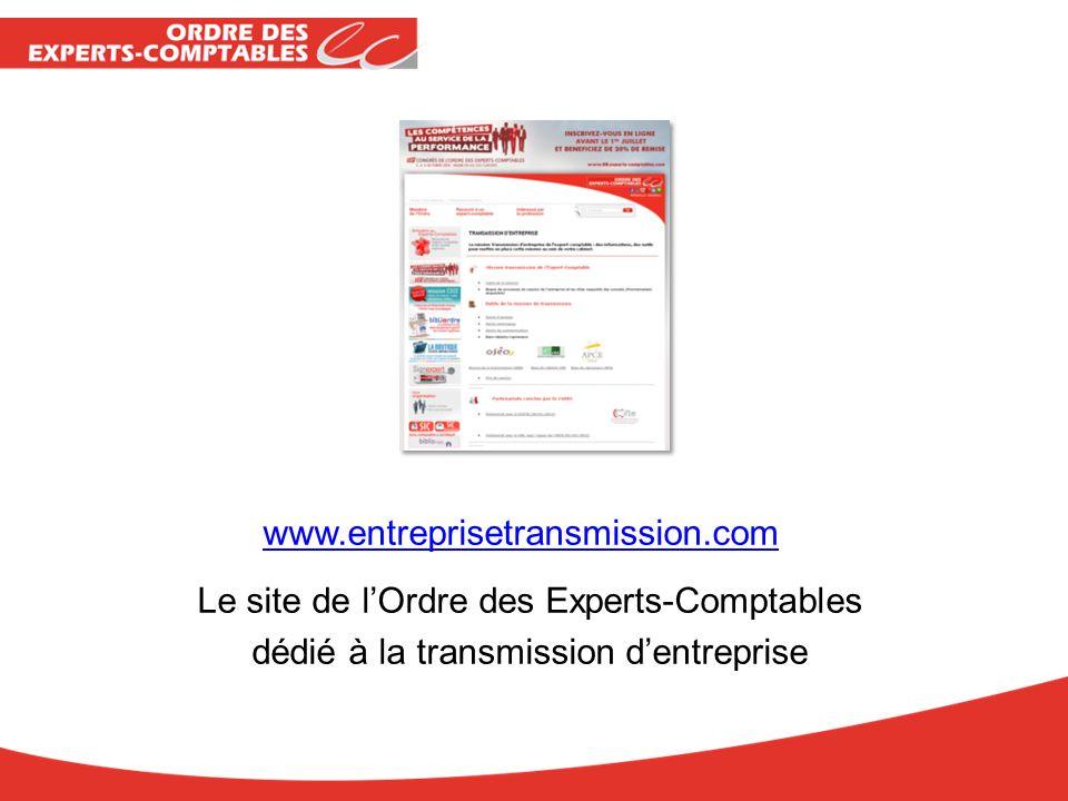 Le site de l'Ordre des Experts-Comptables