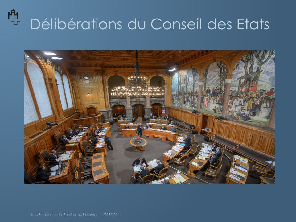 Délibérations du Conseil des Etats