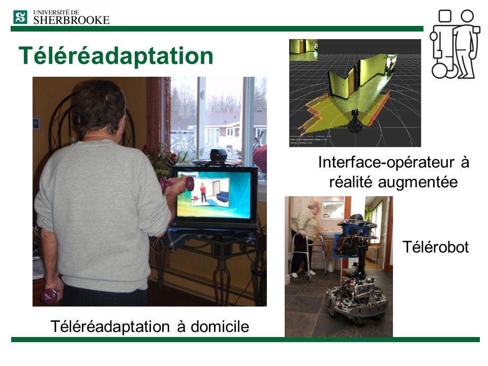 Téléréadaptation Interface-opérateur à réalité augmentée Télérobot