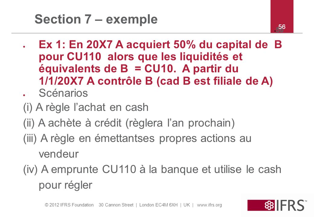 Section 7 – exemple