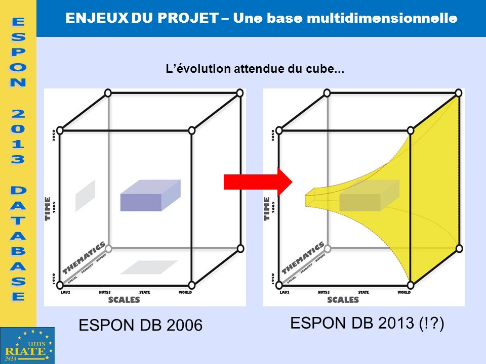 ESPON 2013 DATABASE ESPON DB 2013 (! ) ESPON DB 2006
