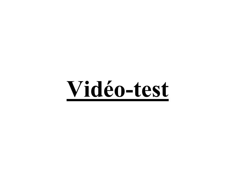 Vidéo-test