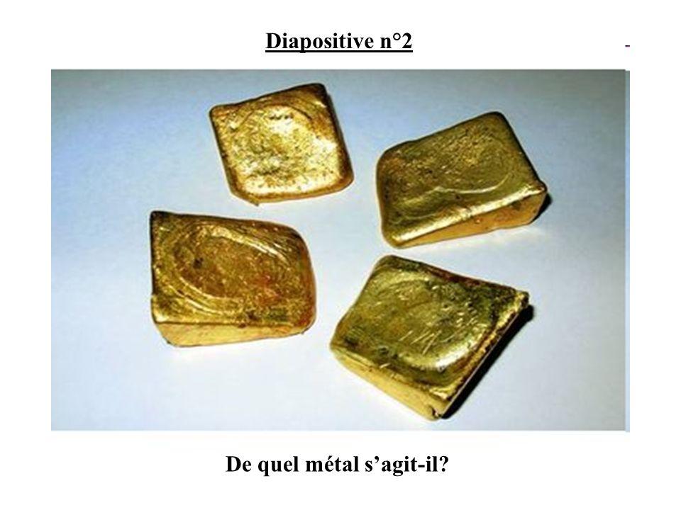 De quel métal s'agit-il