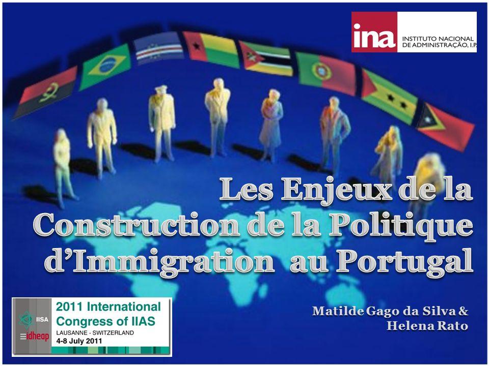 Les Enjeux de la Construction de la Politique d'Immigration au Portugal