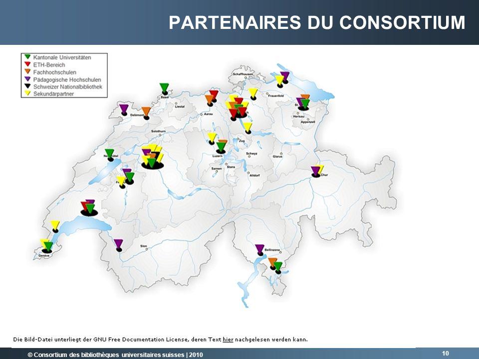 Partenaires du consortium