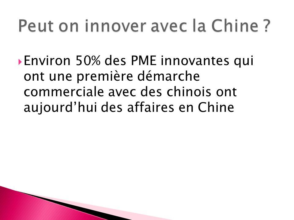 Peut on innover avec la Chine