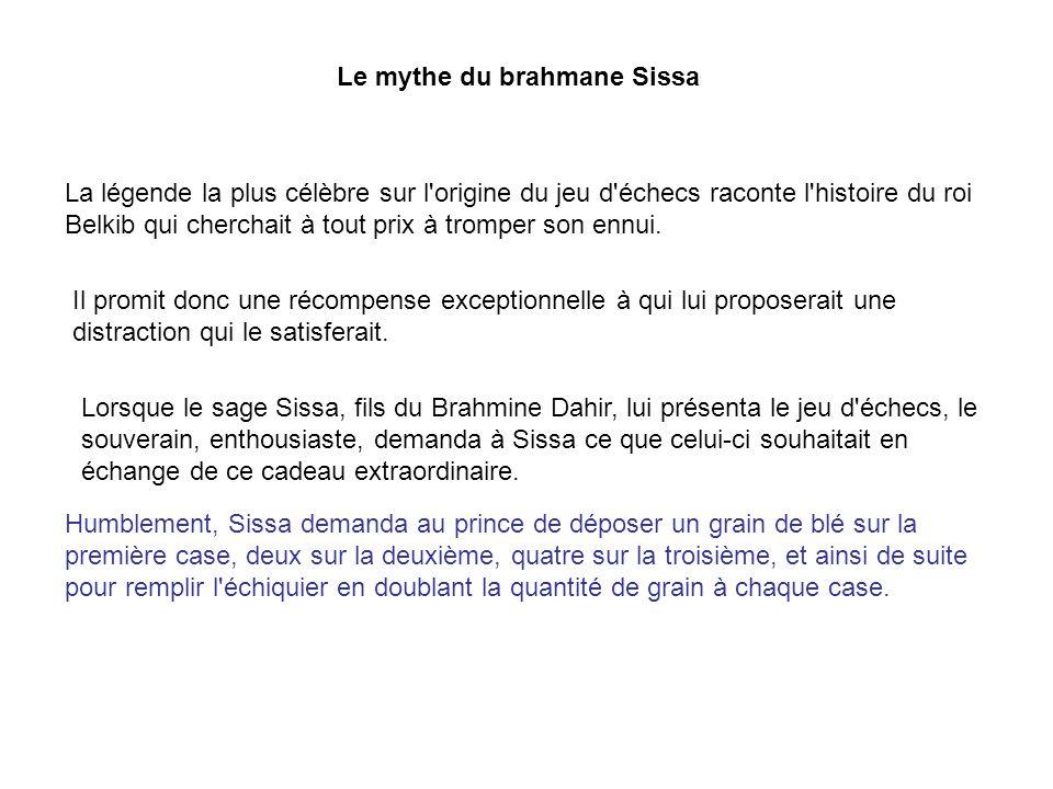 Le mythe du brahmane Sissa
