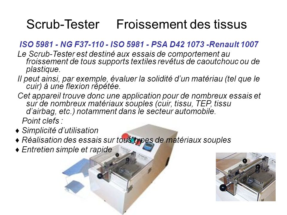 ISO 5981 - NG F37-110 - ISO 5981 - PSA D42 1073 -Renault 1007