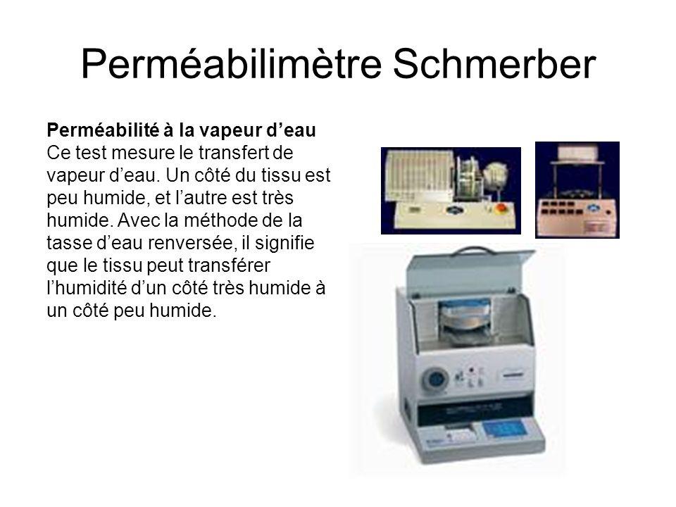 Perméabilimètre Schmerber