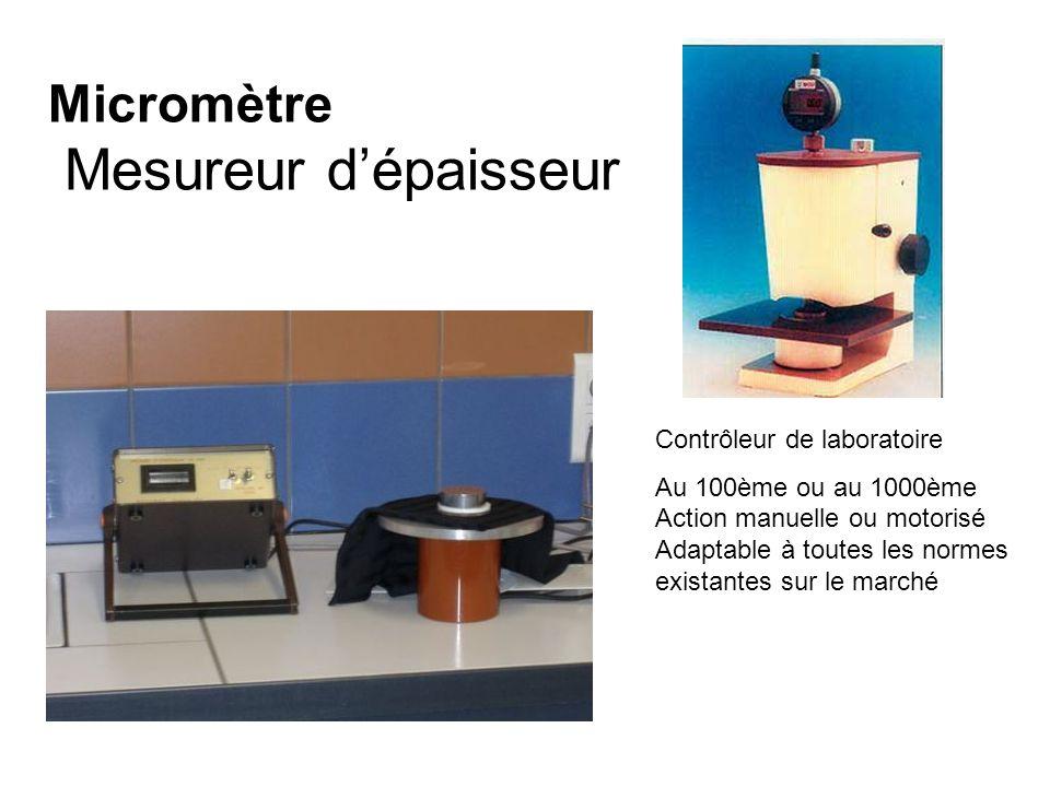 Micromètre Mesureur d'épaisseur