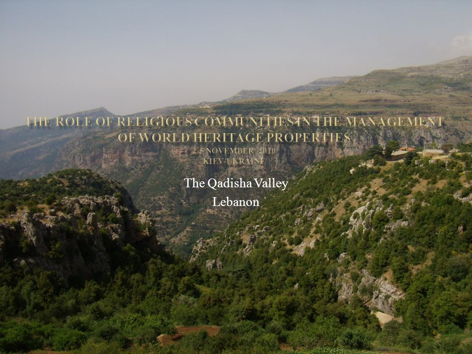 The Qadisha Valley Lebanon