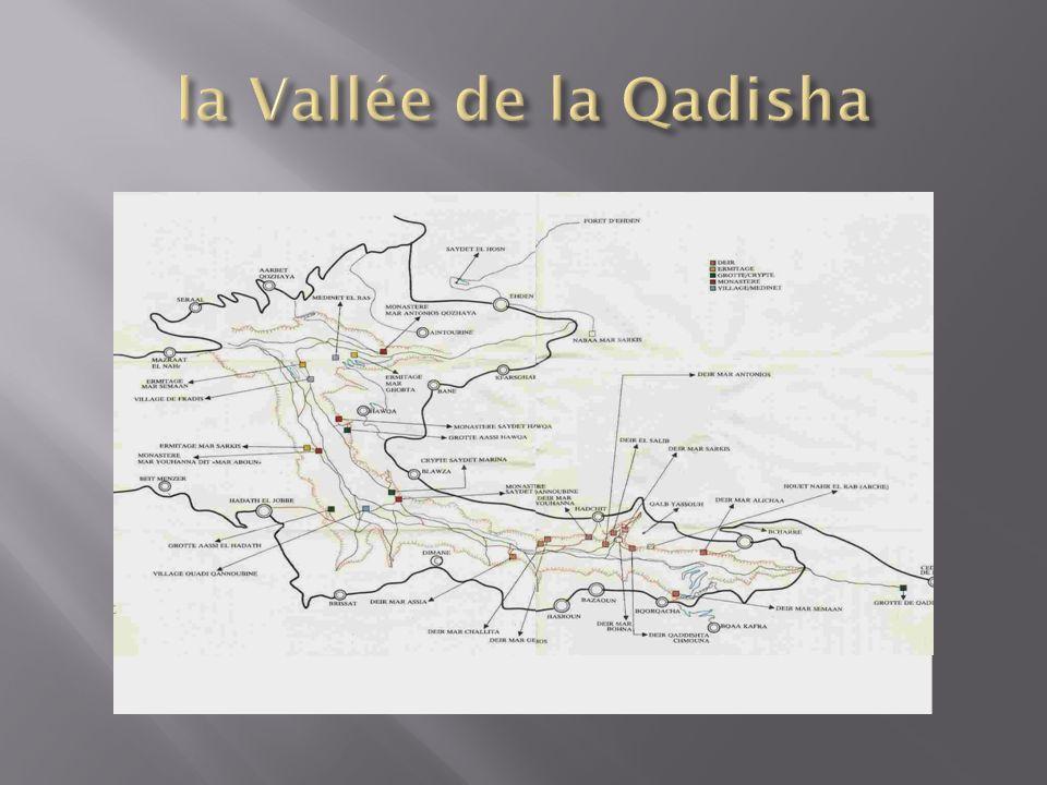 la Vallée de la Qadisha