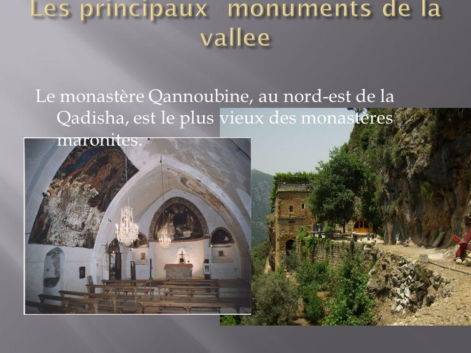 Les principaux monuments de la vallee