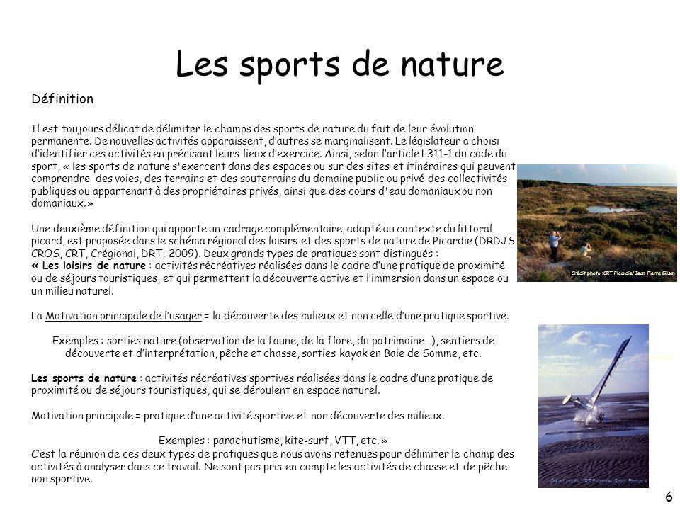 Exemples : parachutisme, kite-surf, VTT, etc. »
