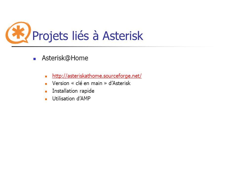Projets liés à Asterisk