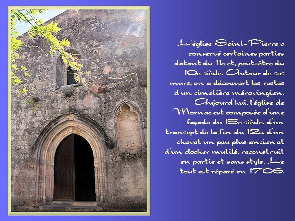 L'église Saint-Pierre a conservé certaines parties datant du 11e et, peut-être du 10e siècle. Autour de ses murs, on a découvert les restes d'un cimetière mérovingien.