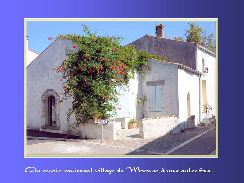 Au revoir, ravissant village de Mornac, à une autre fois….