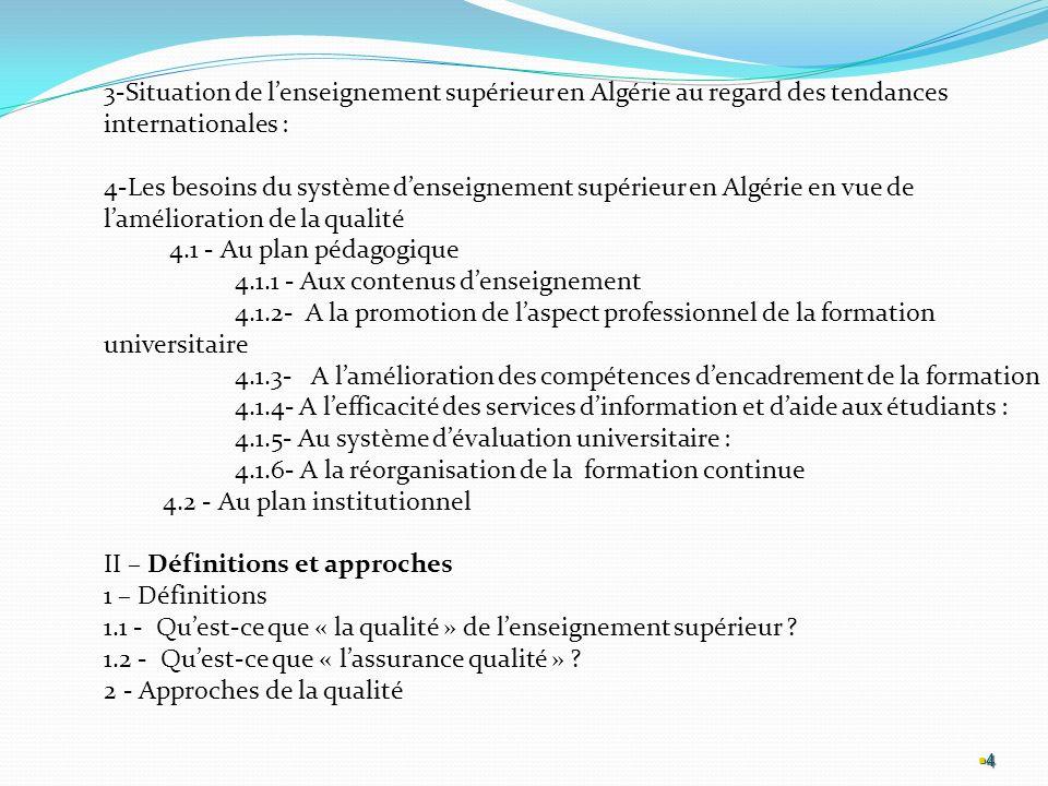 4.1.1 - Aux contenus d'enseignement