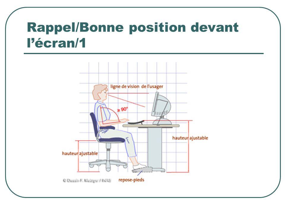 Rappel/Bonne position devant l'écran/1