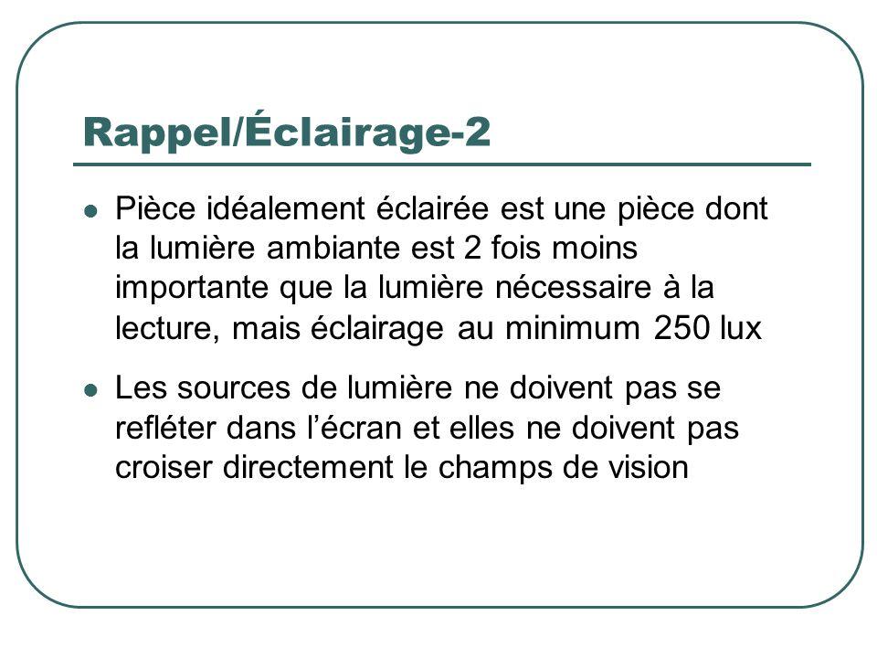 Rappel/Éclairage-2