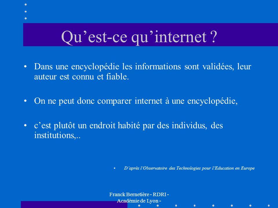 Qu'est-ce qu'internet