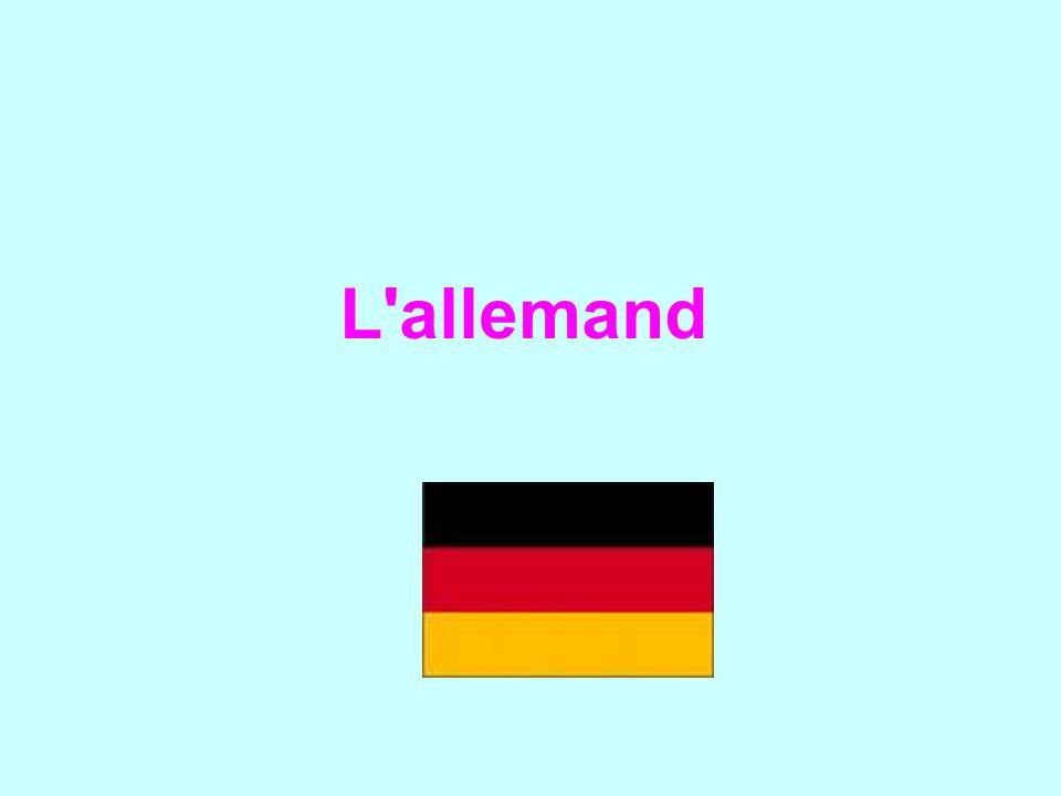 L allemand