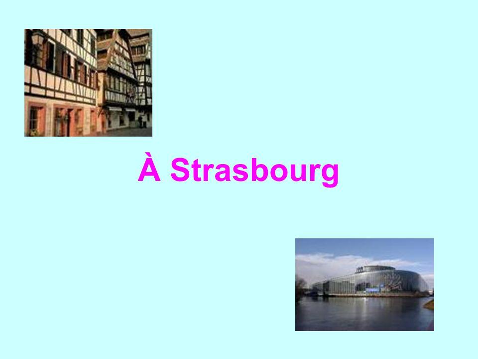 À Strasbourg